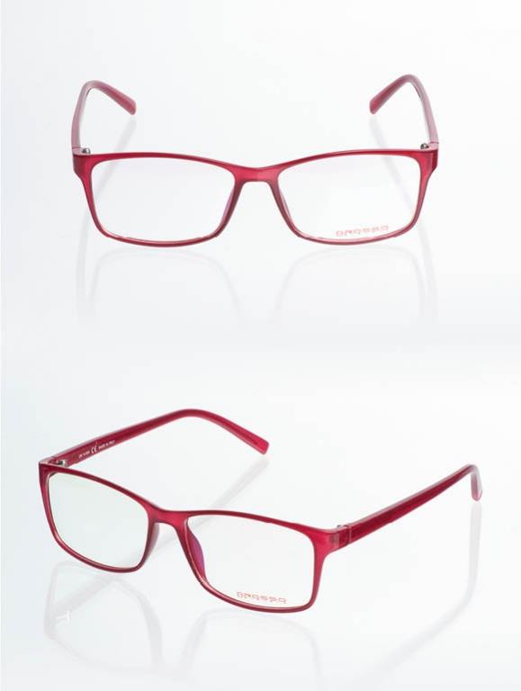 8Rosso-Occhiali da vista - Bernice - 14